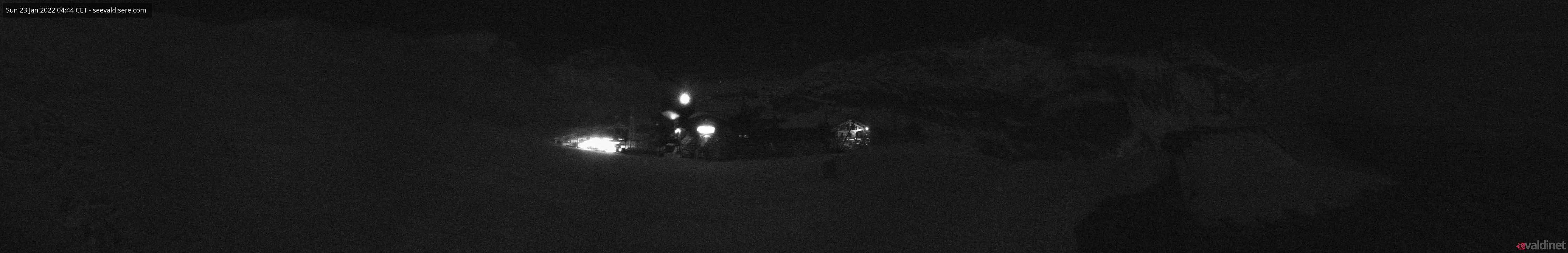 a panoramic view of Val d'Isere